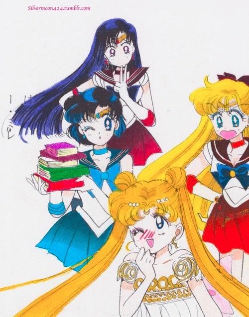 <3: Sailormoon, Moon Manga, Sailor Moon, Moon Group, Group Pics, Moon R Sailor, Moon S Sailor
