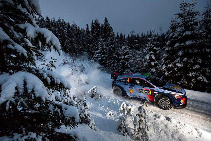Classement Rallye de Suède 2017 Jour 2