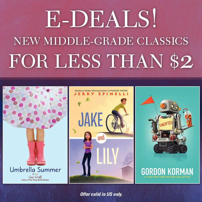 Save on some new middle grade classics!