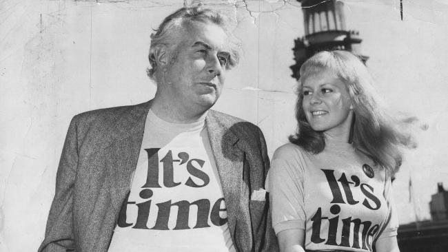 Gough Whitlam and little patty