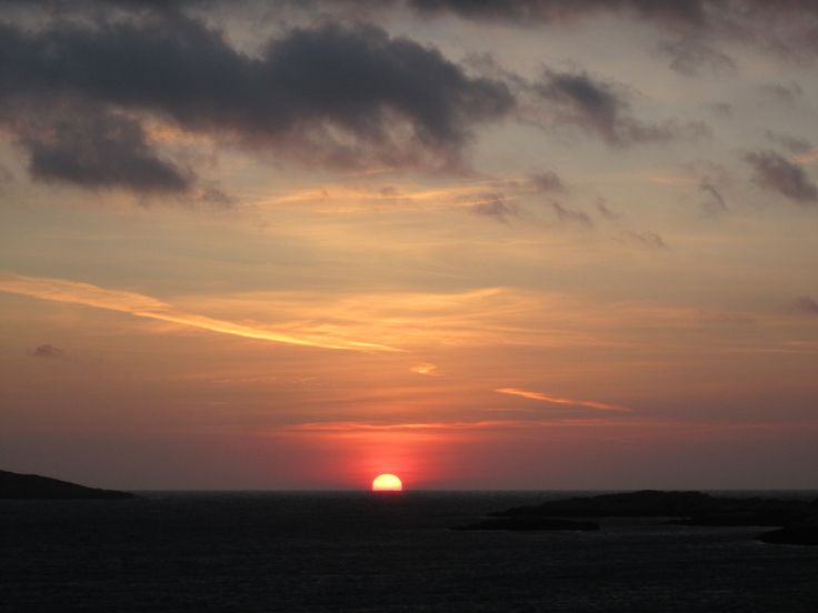 More new dawn, February on Barra