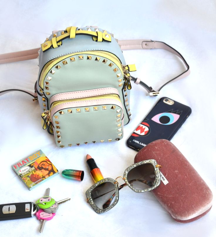 New Post from the blog! Catch the rainbow fever. #styleblog #fashion #essentials #maccosmetics #miumiu #valentino