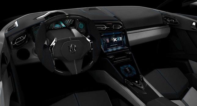 Interior of Lykan HyperSport
