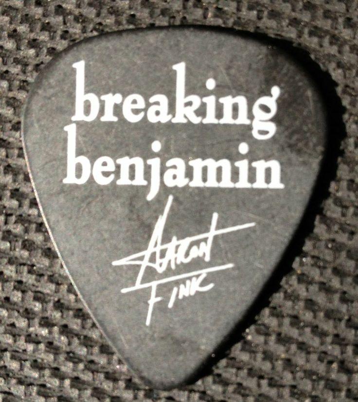 Breaking Benjamin Aaron Fink Guitar Pick