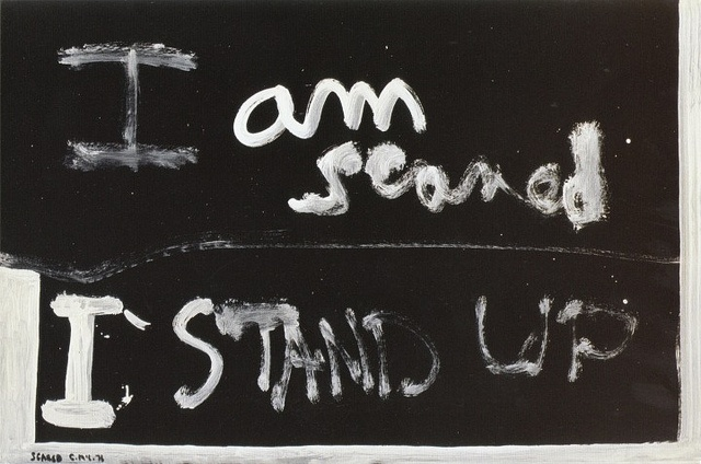 Scared - Colin McCahon