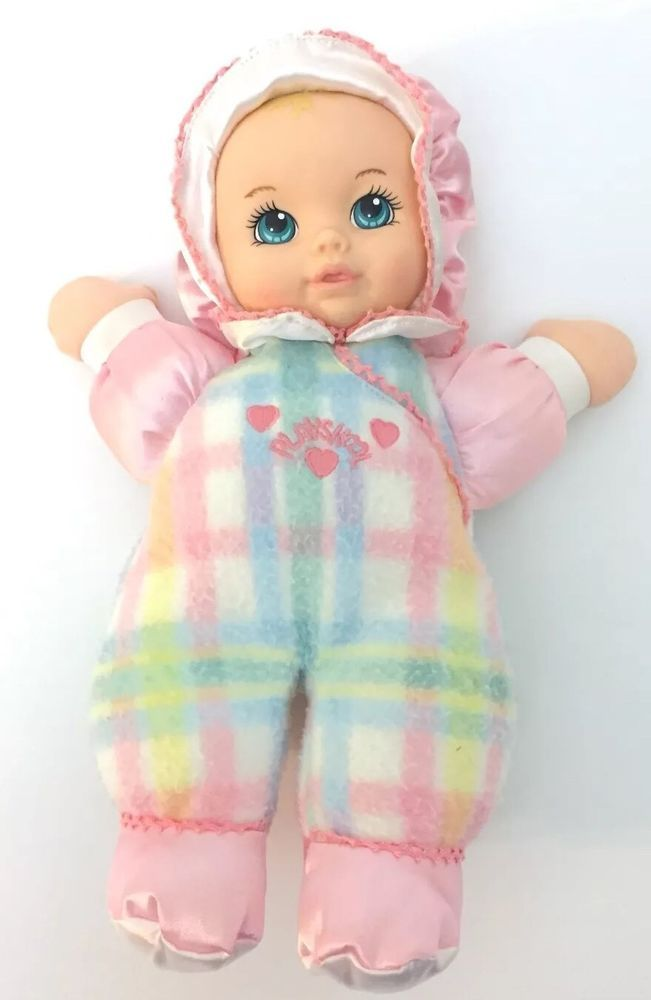 1996 Playskool Hasbro Snuzzles 5034 Baby Doll Plush Toy