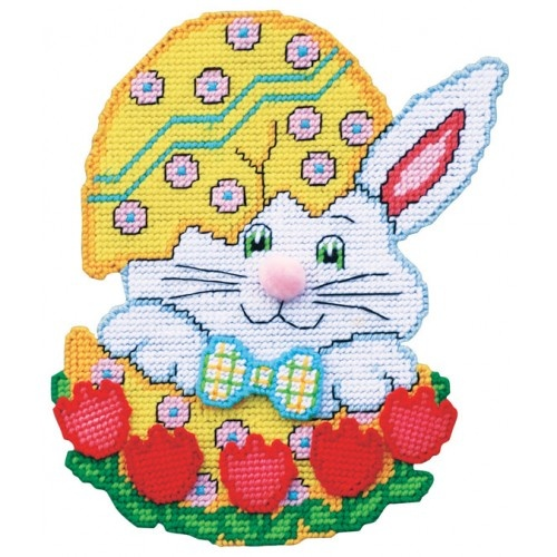 Hatching Egg Bunny Plastic Canvas Kit