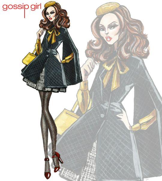 Blair Waldorf - Gossip Girl Collection - by Armand Mehidri,,,