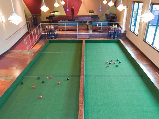Bocce Ball indoor | Bocce | Pinterest