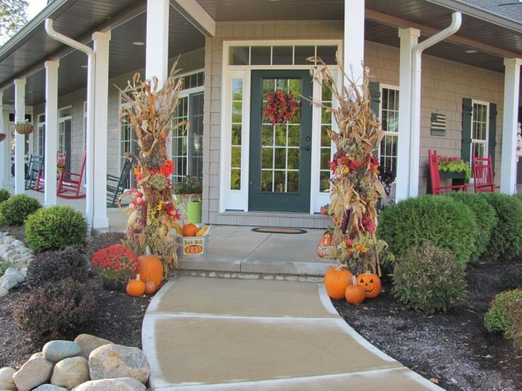 37 best Front Porch Ideas images on Pinterest | Exterior homes ...