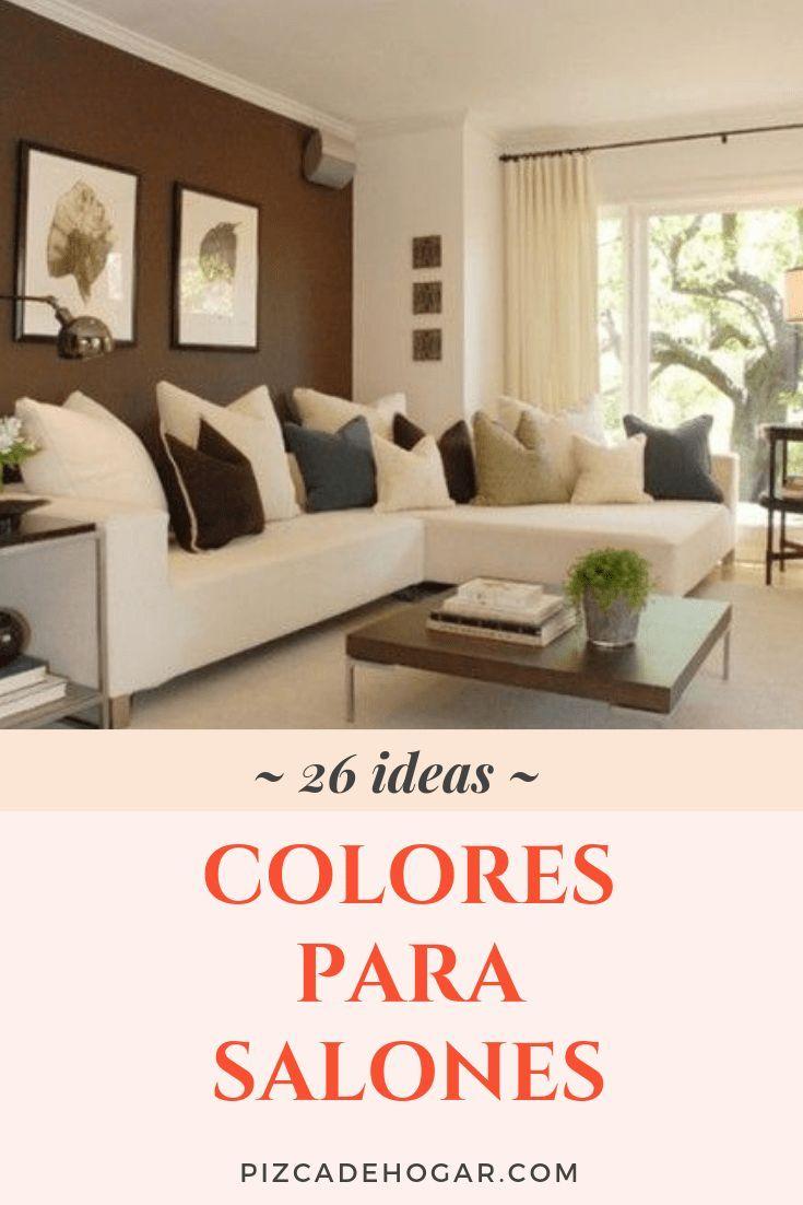 Colores para Salones: 18 Ideas para Pintar en 18  Pintar el
