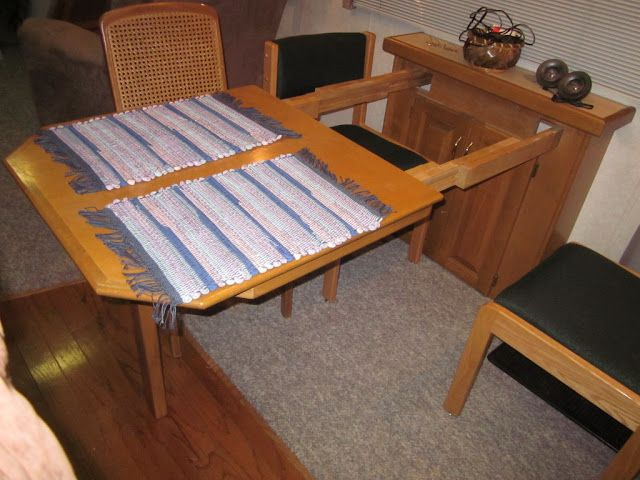 Rv Table With Leaf Camping Pinterest Chairs Home