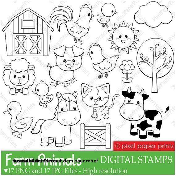 99 Inspirierend Ausmalbild Bauernhof Tiere Bild Ausmalbilder Baby Nutztiere Tier Doodles