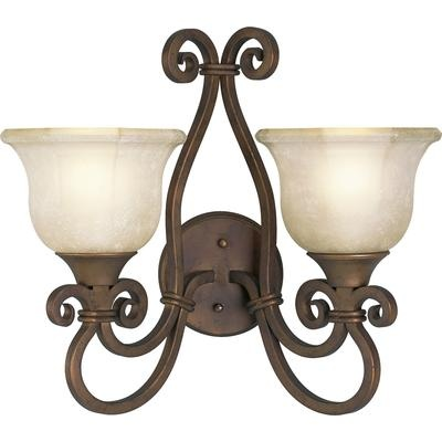 Thomasville Lighting - Guildhall Collection Roasted Java 2-light Wall Sconce - 785247134335 - Home Depot Canada