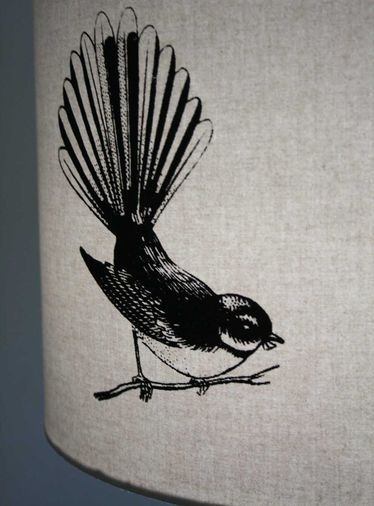Fantail lampshade