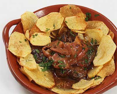 Receitas - Bife à portuguesa - Petiscos.com