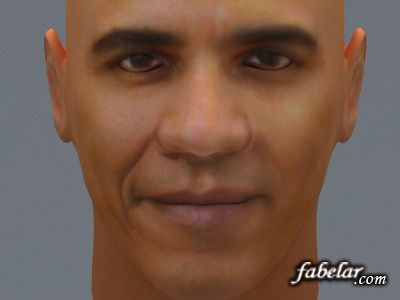 Barak Obama – free 3D model ready for CG projects. Available formats: 3D Studio Max (.max), 3D Studio (.3ds), OBJ (.obj)