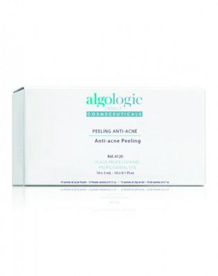 Молочно-салициловый химический пилинг с ТСА  Анти-акне 10 шт Х 3 мл  Algologie (Франция) от Algologie