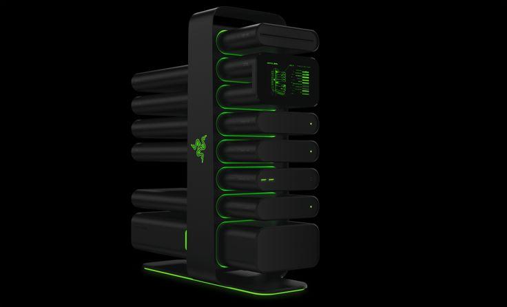 RAZER Project Christine simplifica la configuración y actualizaciones futuras del PC #CES2014