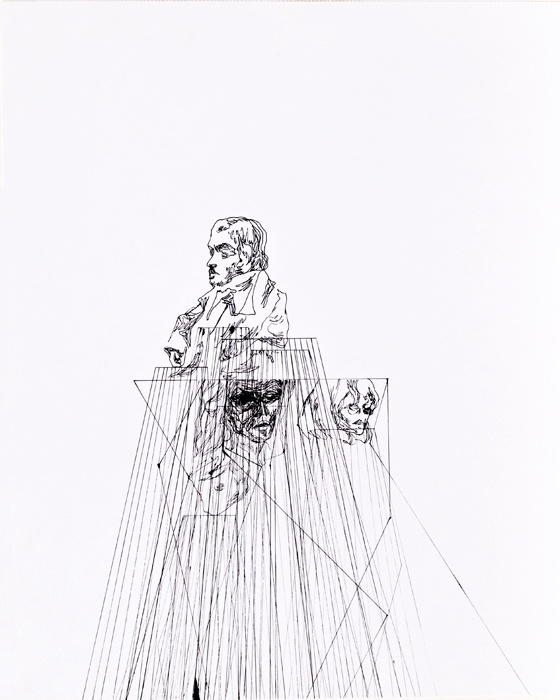 Line drawing by Jasper Sebastian Sturup