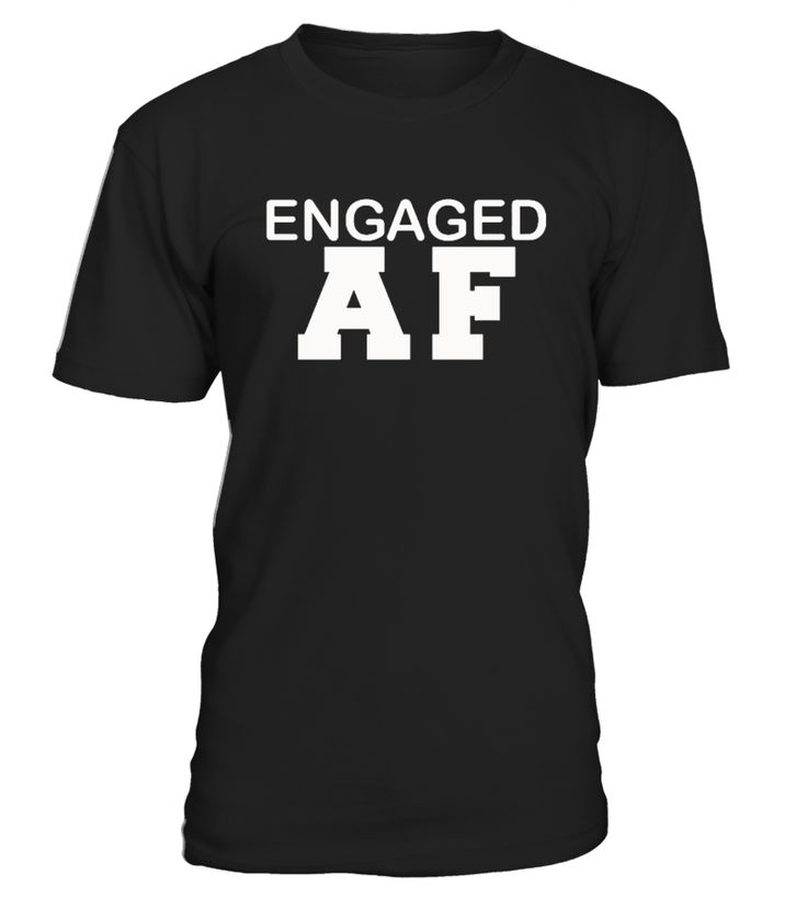 Ideal t-shirt for those awesome fiances and fiancees out there   Perfect for Valentine's Day, weddings, anniversary, anniversaries, birthdays, Christmas, marriage engagement gifts, engagement presents and more