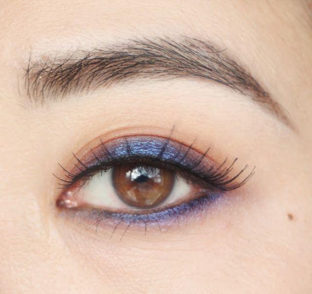 Last Weekend's Eye Look: Anodized Titanium Look