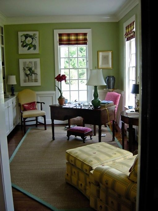 Elegant Feminine Home Office | Nadyana Magazine