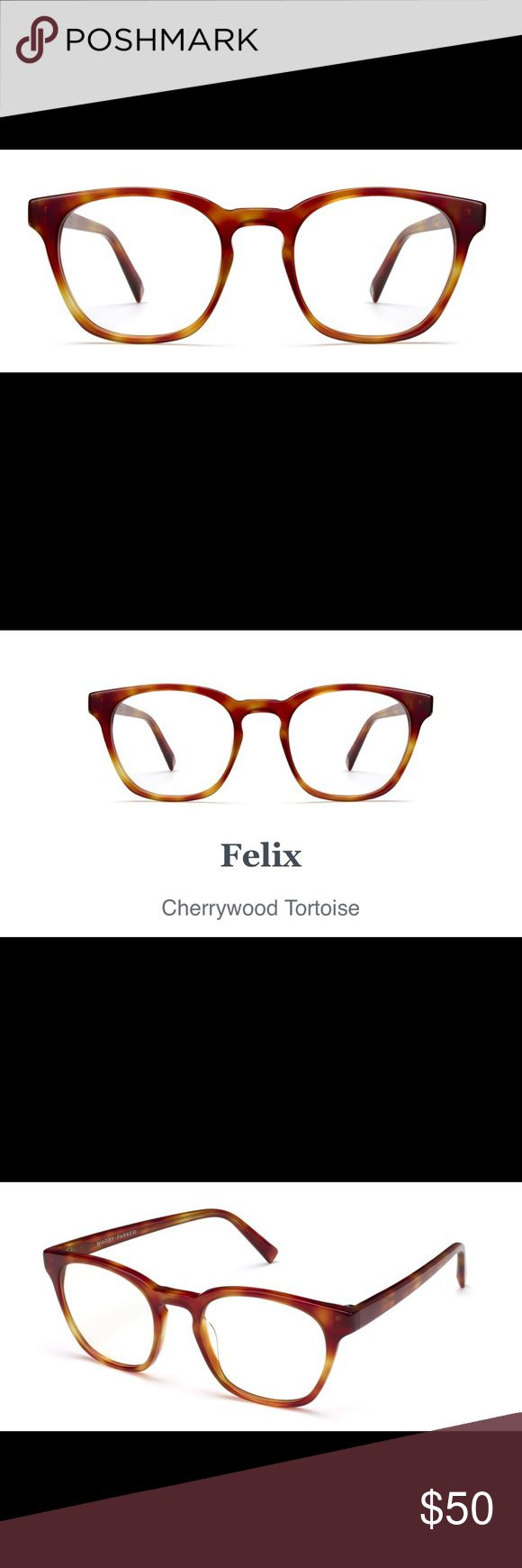 Warby Parker Felix in Cherrywood Tortoise NWT Warby