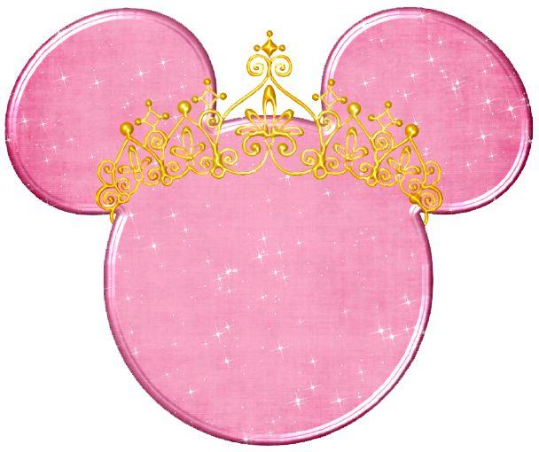 Princess mickey head disney images pinterest disney - Princesse minnie ...