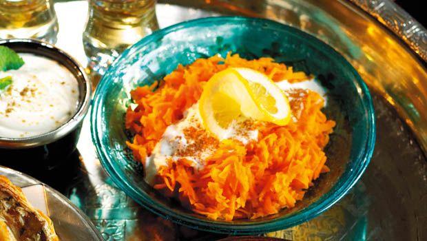 Marokkanischer Rüeblisalat