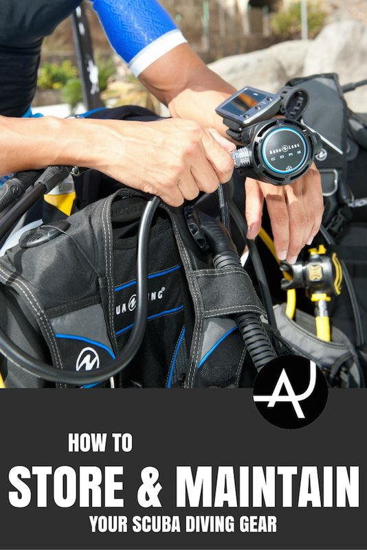 Quick Guide. Learn how to store and maintain your scuba diving gear properly, so it last longer and in better shape for your next ocean adventure.