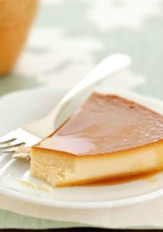 Pineapple-Cream Cheese Flan – It's just eggs, sugar, cream cheese and sweetened condensed milk flavored with pineapple juice. But this smooth dessert is a masterpiece of culinary art.
