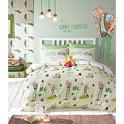 Roald Dahl - Kids' multicoloured 'BFG' duvet cover and pillow case set
