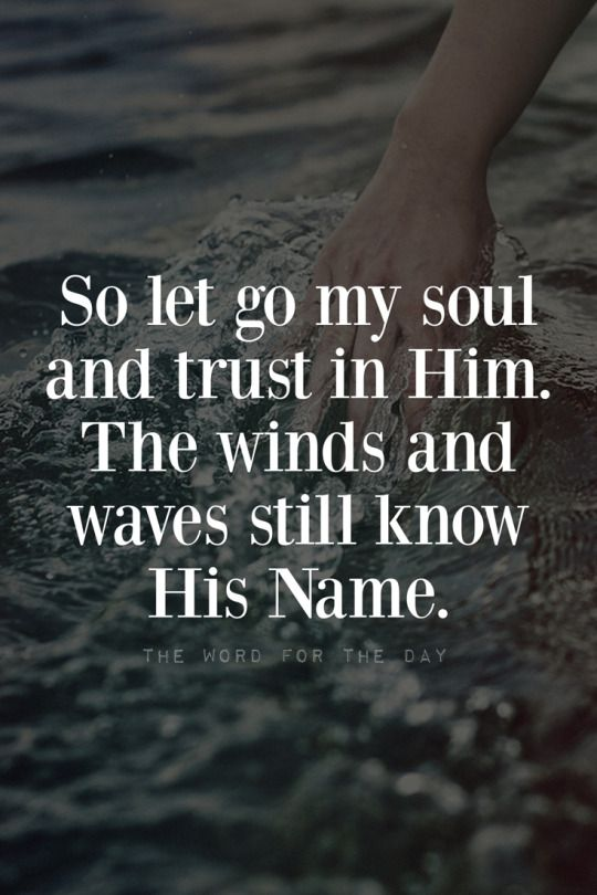 The Word For The Day Quotes, waves, sea, storm, bible ...