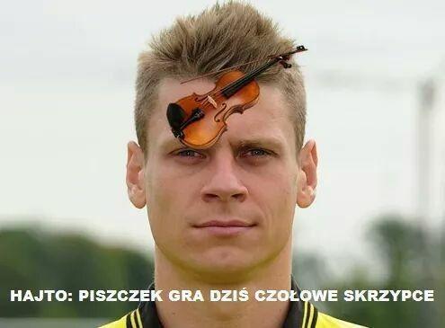 Memy piłkarskie po meczu Polska Rumunia • Tomasz Hajto i Łukaszu Piszczku - Piszczek gra dziś czołowe skrzypce • Wejdź i zobacz >> #polska #memy #pilkanozna #futbol #smieszne