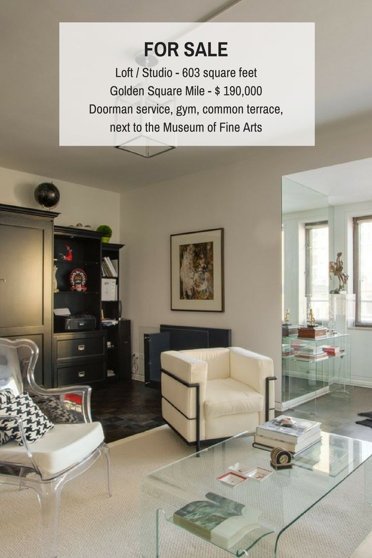 Luxury loft in Montreal, next to Museum of Fine Arts with a view of the city. Perfect urban pied à terre at an incredible price. #Loft #Studio #Montreal #Luxury #MBAM #RealEstate #Realtors #brokers #DEAL