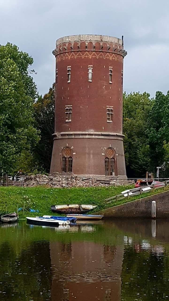 Zwolse watertoren in de originele staat terug.