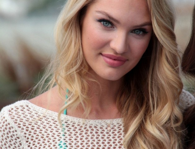 Victoria's Secret Canada Fashion Store opening with Candice Swanepoel