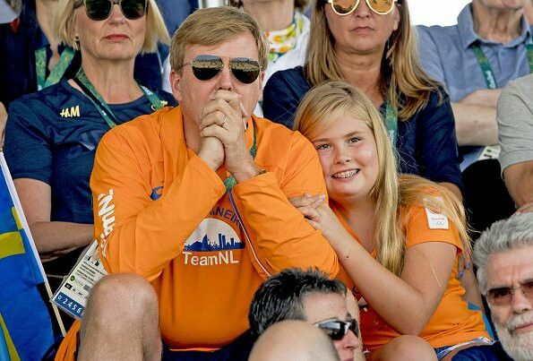 King Willem Alexander, Queen Maxima, Crown Princess Catharina-Amalia and…