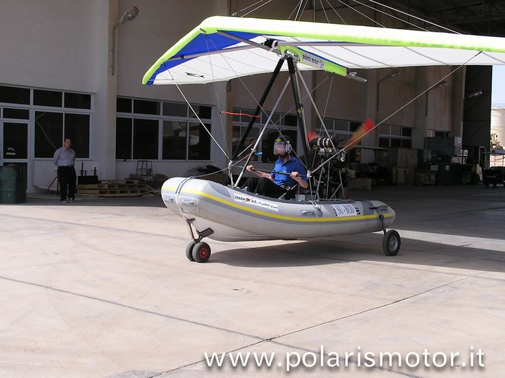 #Flying #Inflatable #boat #Amphibious on flight. polaris motor microlight - powered hang glider - #deltaplano a motore - #flexwing - #trike - #madeinitaly
