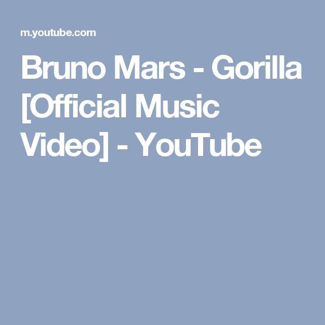 Bruno Mars - Gorilla [Official Music Video] - YouTube