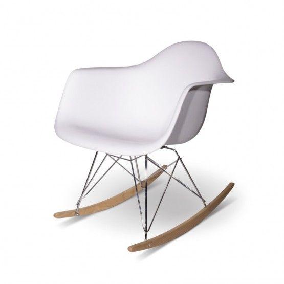 die besten 20 eames schaukelstuhl ideen auf pinterest. Black Bedroom Furniture Sets. Home Design Ideas