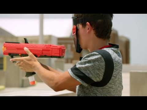 NERF Rival – NERF Guns Just Got An Insane Upgrade [Video] - The Rival is NERF US' latest and greatest NERF gun to date. It can fire soft golf ball-like rounds and shoots at speeds up to 70 mph!