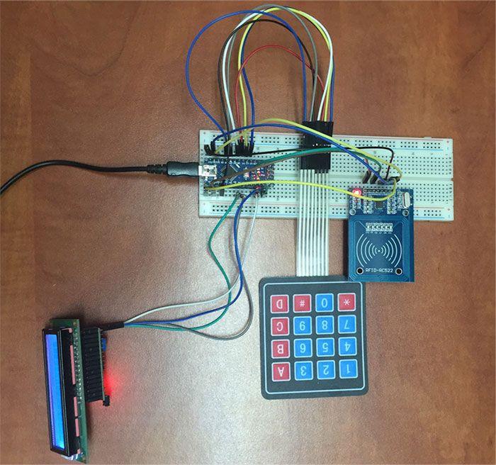 Make Your Own Arduino Rfid Door Lock Arduino Leds