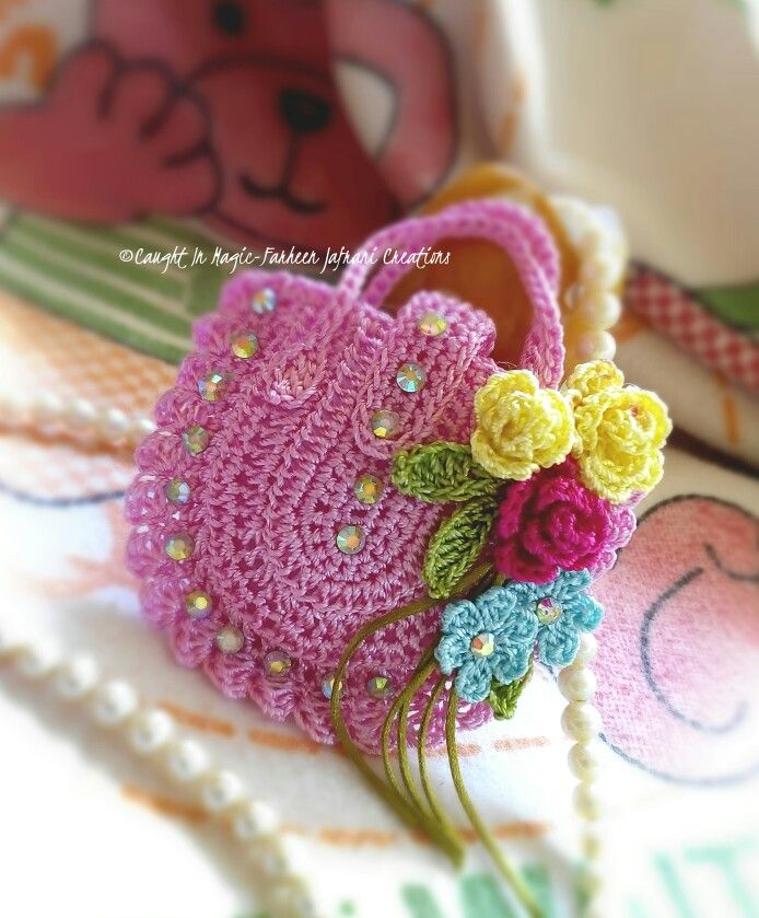 Mini handbag keychain ..