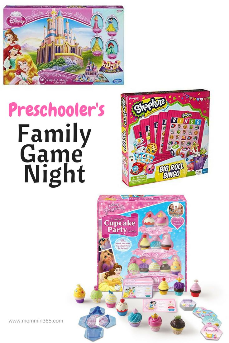Family Game Night with preschoolers is fun for the whole family with these three board games.