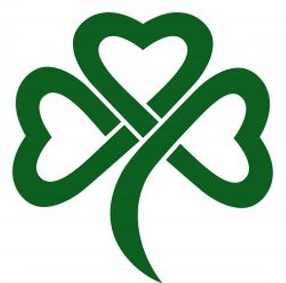 Custom vinyl decals and more at our Etsy Shop! https://www.etsy.com/listing/263665684/st-patricks-day-celtic-shamrock-vinyl