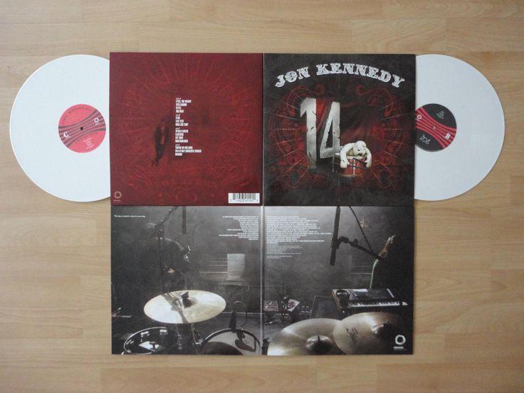 "Jon Kennedy - ""14"" LP **FOR SALE**  Double solid white vinyl Gloss & gatefold sleeve Digital dropcards   Artwork by Jon Kennedy, JonPaulKaiser & Marx F Six   £19.99 + POSTAGE  Postage Costs £3.99 INSIDE EU £4.99 UK £8.99 WORLWIDE  PAYPAL ADDRESS : payjon@jonkennedy.co.uk  Contact for BANK TRANSFER : 14@jonkennedy.co.uk"