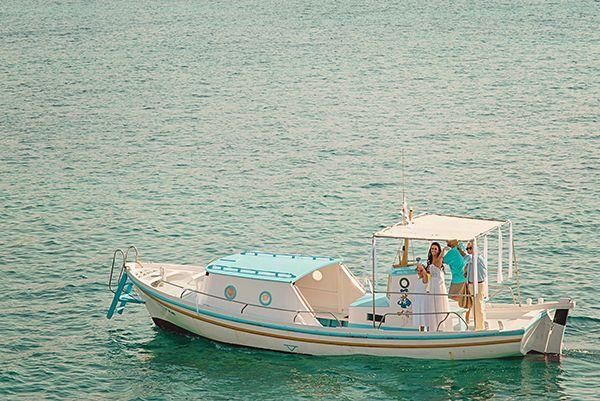 Coral red wedding in Mykonos   Margarita & Maxim - Love4Wed
