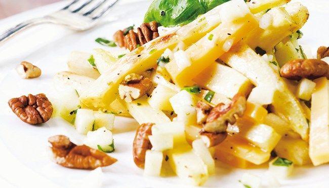 Paahdettu palsternakka-juustosalaatti - K-ruoka